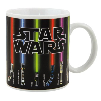Iyach Heat Activated Design Changing Mug - star Wars(White)