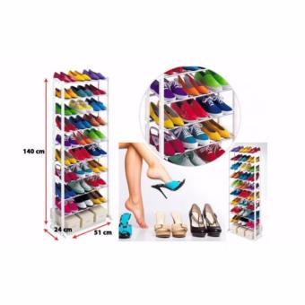 JA Amazing Shoe Rack with FREE Shoe Under Organizer - 2