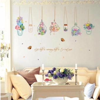 J&C DIY Flower Wall Sticker at Home Decoration SK7057 Price Philippines