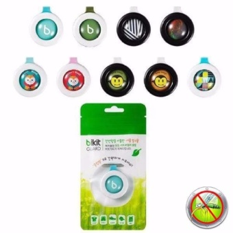 J&J Bikit Guard Buckle Mosquito Insect Repellent Set of 6(Random Design)