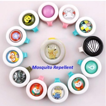 J&J Bikit Guard Buckle Mosquito Insect Repellent Set of 6(Random Design) - 5