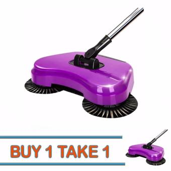 J&J Buy One Take One 360 Rotary Home Use Magic ManualTelescopic Floor Dust Sweeper