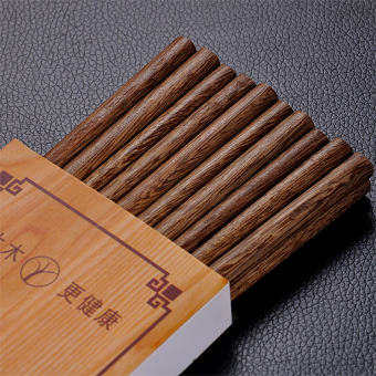 Japanese-style mahogany wood solid wooden chopsticks