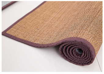 Japanese-style Natural Bamboo woven living room rug