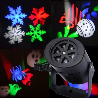 Jeebel Christmas Lighting Stage Halloween Light lighting showprojector Snowflake light Holiday Projector moving pattern Partyshow - intl Price Philippines