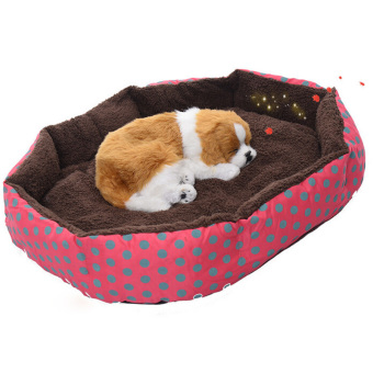 Jetting Buy Cute Pet Bed Soft Flannel Warm Rose Price Philippines