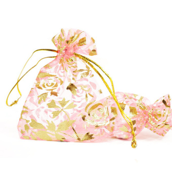 Jewelry Gift Bags Organza Pouch Bags Set of 20 Pink Price Philippines