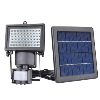 JIANYI Solar Powered Waterproof Security Light with Motion Sensor and 60 Bright LED(Intl)