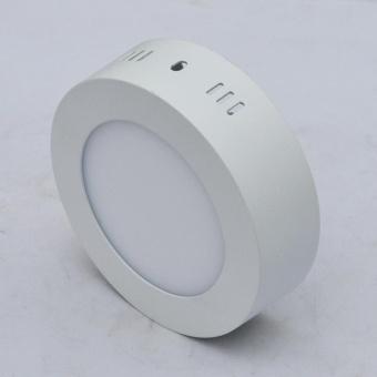 Jiawen LED Panel Light 6W cool white Surface Mounted LED Ceiling Lights AC90-265V Round LED Downlight - intl - 4