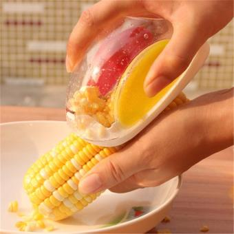 Jiayiqi Corn Stripper Threshing Stripping Cut Peel Thresher Kitchen Tool - intl