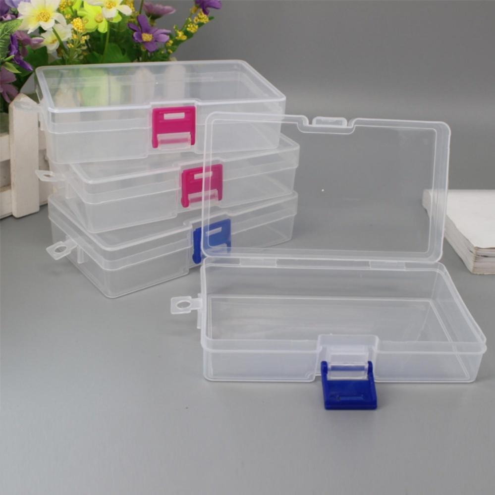 JinGle Transparent rectangular plastic empty box sample box spareparts packaging box - intl ...