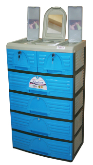 Jolly 5 Layer Drawer (Blue)