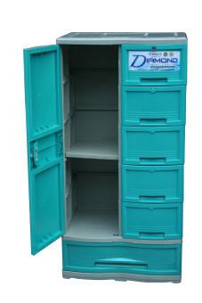 Jolly Diamond 6 Layer Closet (Green) Price Philippines