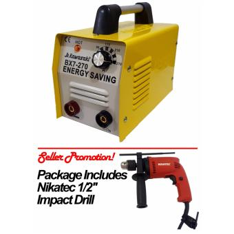 "JR Kawasaki BX7-270 Welding Machine Nikatec 1/2"" Impact Drill Price Philippines"