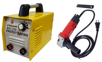 JR Kawasaki BX7-270 Welding Machine Nikatec Grinder Package
