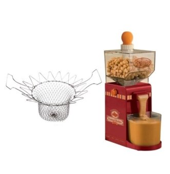Keimav Quality Magic Kitchen Deluxe Strainer (Silver) and withElectric Homemade Peanut Butter Machine
