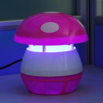 Keimav Quality Photocalyst LED Mosquito Killer Lamp (Pink) - 2