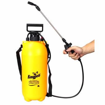 Kingjet Multi functional 8L Garden sprayer and cleaning toolAdjustable nozzle pressure sprayer - 2