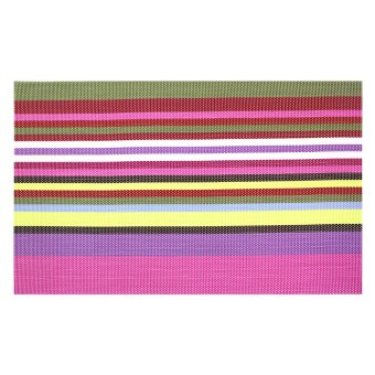 Kitchen Hub Fashion Striped Placemat Set of 4 (G-P) - picture 2