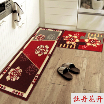 Kitchen Non-Slip Anti-Oil Water-Absorbent Long Home Mat