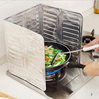 Kitchen Oil Aluminium Foil Plate Gas Stove Oil Splatter Screens -intl Price Philippines