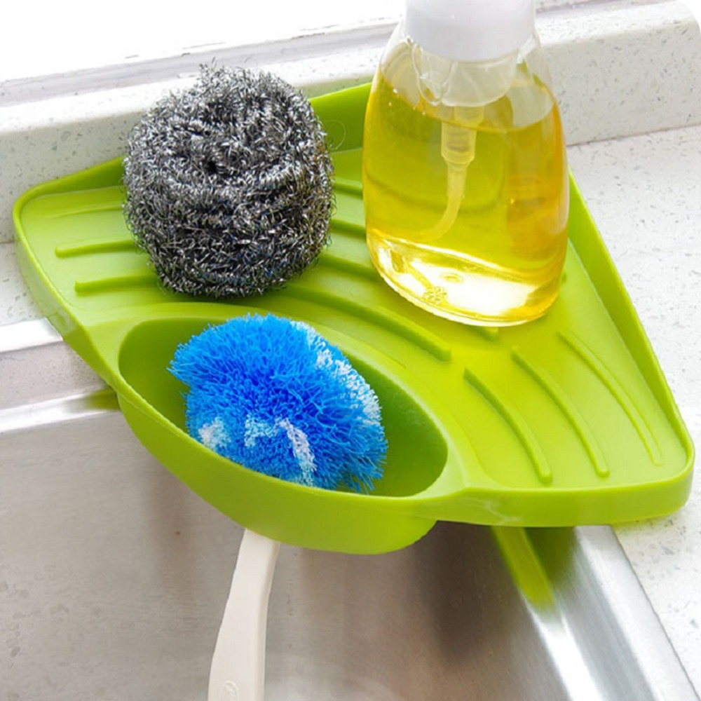 sponge kitchen scratcher holder fabulous amazon stainless sink com caddy inset