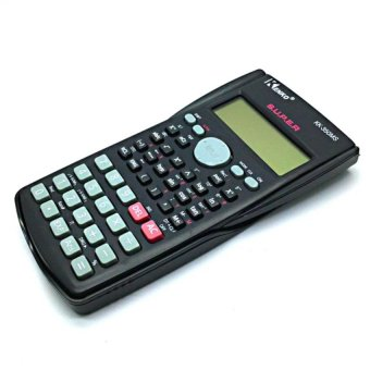KK350MS Scientific Calculator (Black) with FREE LD LACE
