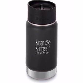 Klean Kanteen Insulated Wide 12oz Cafe 2.0 (Shale Black)