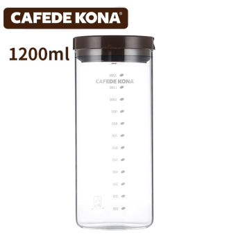 Kona PARK'S glass food snack Jar sealed containers