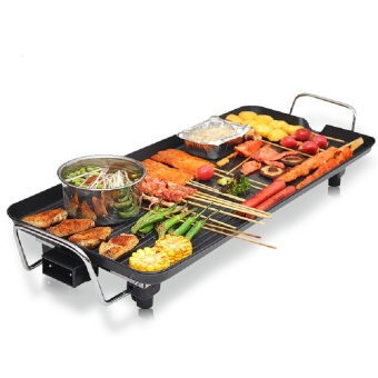 Korean style home non-stick electric oven electric grill