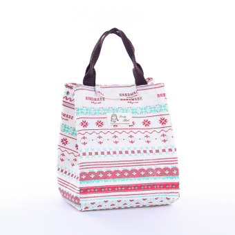 Korean style portable large lunch box portable lunch bag