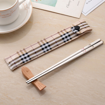 Korean style Student Travel children's chopsticks couple's chopsticks