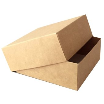 Kraft Box 20pcs 4inX4inX1.5in Product Packaging Presentation StockBox (2-piece Set) Price Philippines