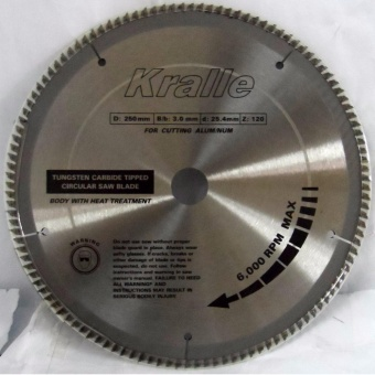 "Kralle TCT Circular Saw Blade for Aluminum (10"" x 120T) Price Philippines"
