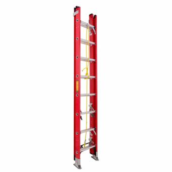 Kruger Fiberglass Extension Ladder, F32816 (16-29 Rungs)