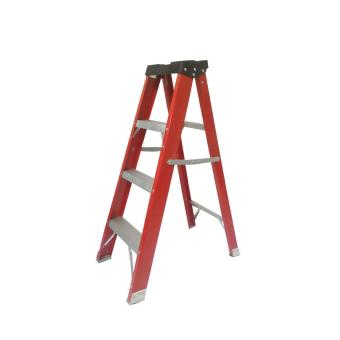 Kruger Fiberglass Single Side Ladder, F32204 (4 Steps)