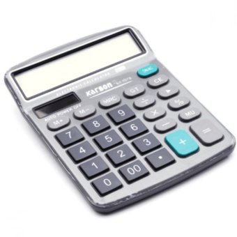 KS-837NL Electronic Calculator (Gray) with FREE LD LACE