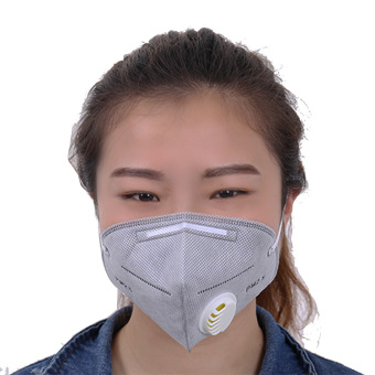 Kz01 non-woven cloth adult with breathing valve dustproof Masks