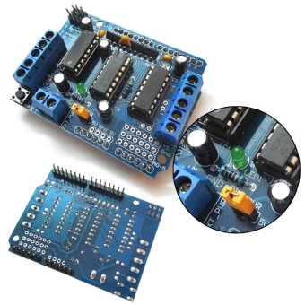 L293D Motor control Drive Shield Expansion Board for Arduino MegaUNO (Blue) - intl - 3