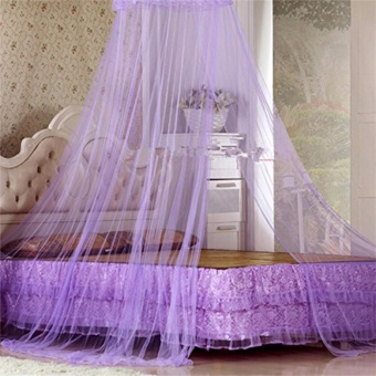 Lace Bed Canopy Mosquito Net - 2