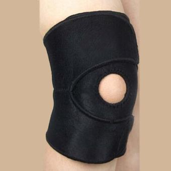 LALANG Elastic Knee Pad Sports Adjustable Support Brace Knee Protector - intl