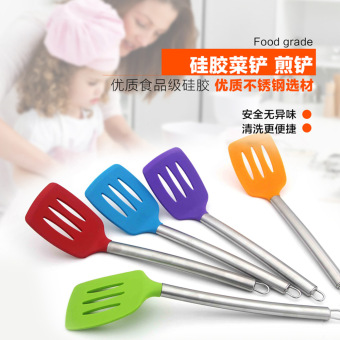 Large new environmentally friendly silicone spatula