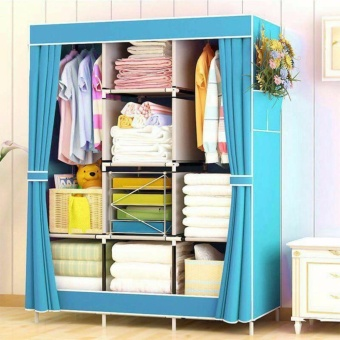 Large Size Quality Fashion Simple Multifunction Cloth Wardrobe Storage Cabinets C-77130