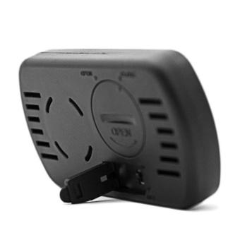 LCD Display Egg Incubator Thermometer Hygrometer Meter of Humidity Temperature Black - intl - 4