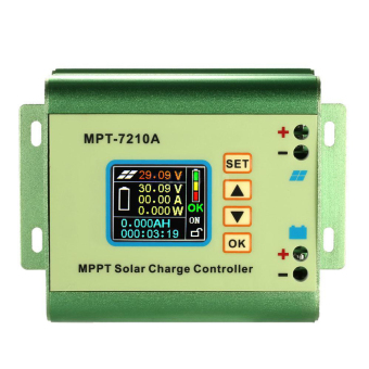 LCD MPPT Solar Regulator Charge Controller