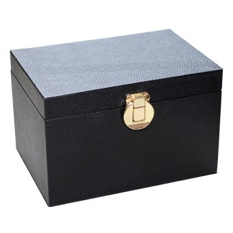 Le Organize Treasure Box Organizer (Black)