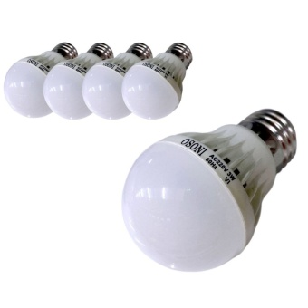 LED Bulb Daylight 3w (SET of 5)