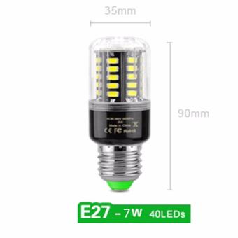 LED E27 Corn Light Bulb 7W 40LED