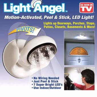 LED Light Angel as Seen on TV Motion Activated Cordless Light BaseRotates