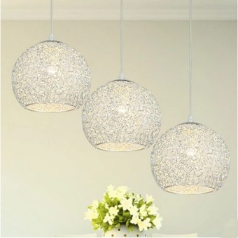 LED Pendant Light Three Heads (Warm Light) With E27 Light BlubCreative Ceiling Fixtures D86-YC1012